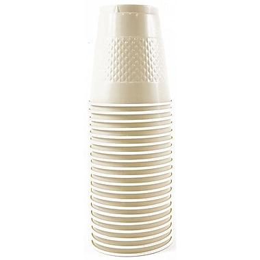 JAM Paper – Gobelets en plastique, 12 oz, ivoire, 200/paquet (2255520709b)