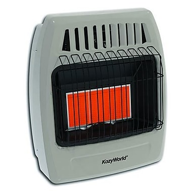 DuraHeat Kozy World 18,000 BTU Infrared Liquid Propane Gas Wall Heater