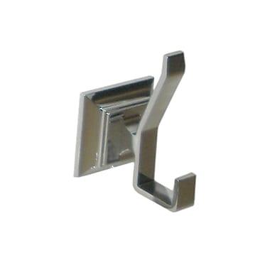 ARISTA Leonard Wall Mounted J Style Robe Hook; Chrome
