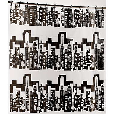 Carnation Home Fashions PEVA ''Cityscape'' Shower Curtain