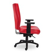 Seating Inc Monterey II High-Back Desk Chair; Black