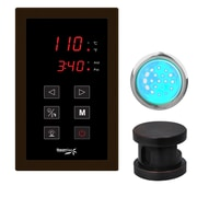 Steam Spa SteamSpa Indulgence Touch Panel Control Kit; Oil Rubbed Bronze