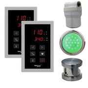 Steam Spa SteamSpa Royal Touch Panel Control Kit; Brushed Nickel