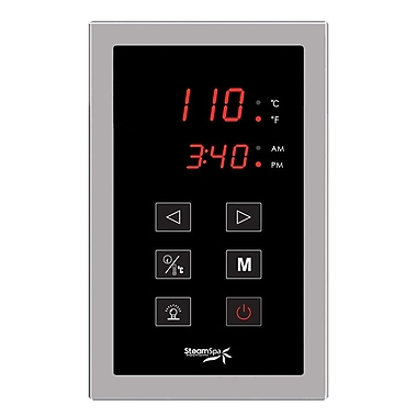 Steam Spa SteamSpa Touch Panel Control System; Oil Rubbed Bronze