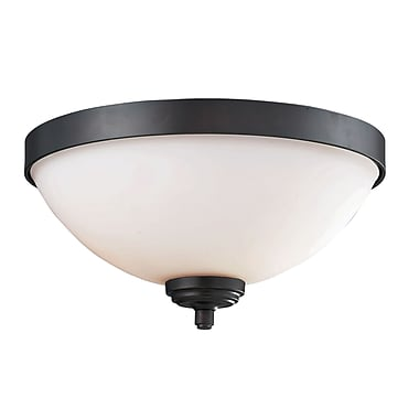 Z-Lite Chambley 2-Light Flush Mount