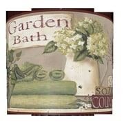 Illumalite Designs Garden Bath 13'' Polystyrene Drum Lamp Shade