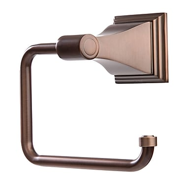 ARISTA Leonard Wall Mounted Euro Style Toilet Paper Holder; Oil Rubbed Bronze