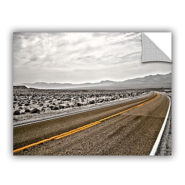 ArtWall Art Apeelz Slow Curves by Mark Ross Photographic Print on Canvas; 18'' H x 24'' W x 0.1'' D