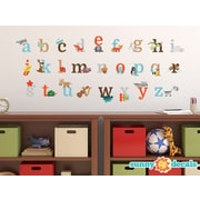 Sunny Decals Alphabet Fun Fabric Wall Decal