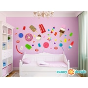 Sunny Decals Candy Fabric Wall Decal
