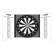 Triumph Sports USA Game Night 10 Pieces Steel Tip Dartboard Game Station