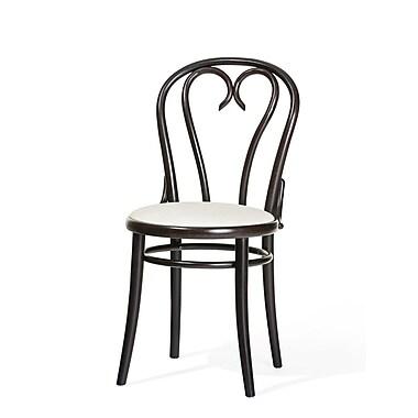 Ton Side Chair (Set of 2); Dark Walnut