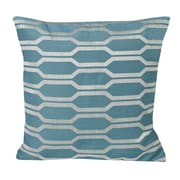 Westex Urban Loft Hexagon Throw Pillow; Blue