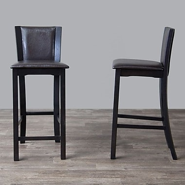 Wholesale Interiors Baxton Studio 30'' Bar Stool (Set of 2)