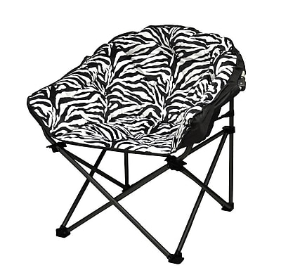 Idea Nuova Urban Shop Zebra Lounge Chair
