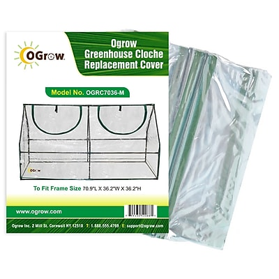 OGrow Greenhouse Cloche Replacement Cover WYF078277112527