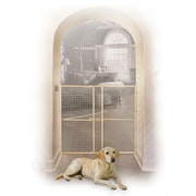 Midwest Homes For Pets Wood Wire Mesh Pet Gate; 44''