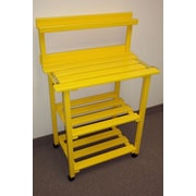 Prairie Leisure Design Barbecue Buddy Buffet Table; Buttercup Yellow