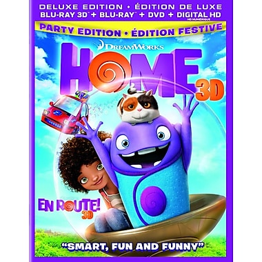 Home (3D Blu-ray/Blu-ray/DVD)