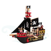 Le Toy Van TV246 Barberossa Pirate Ship, 19 x 48 x 50 cm