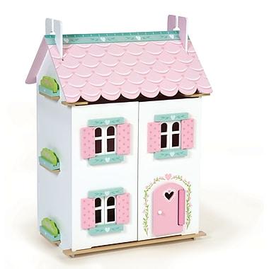 Le Toy Van – Maison de poupée en bois meublée, chalet bien-aimé, H126, 35 x 63 x 44 cm