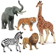 Papo – Ensemble de 5 figurines d'animaux sauvages peintes à la main