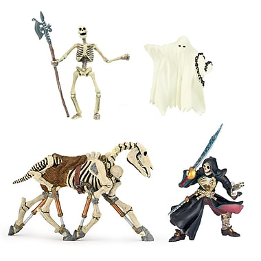 Papo Set of 4 Fantasy Haunted Hand Painted Figurines