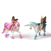 Papo – Ensemble de 4 figurines de monde enchanté peintes à la main, 2