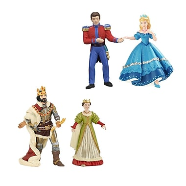 Papo Set of 4 Enchanted World Hand Painted Figurines