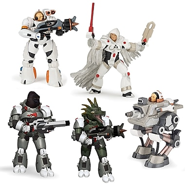 Papo Set of 5 Galactics Hand Painted Figurines