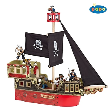 Papo Wooden Pirate Ship