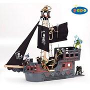 Papo – Bateau fantastique de pirate, en bois