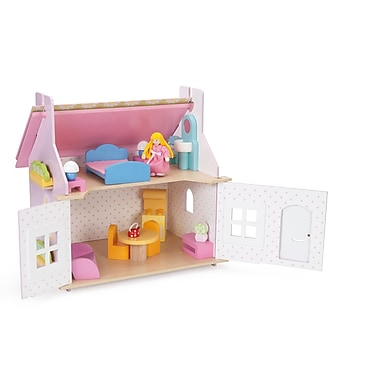 Le Toy Van Daisy Cottage with Furniture Set Small Size Dollhouse
