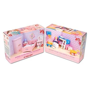 Le Toy Van – Ensemble de meubles de chambre à coucher pour enfants Sugar Plum