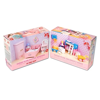 Le Toy Van Sugar Plum Bedroom and Children's Room Furniture Set