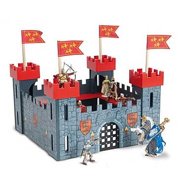 Le Toy Van My First Castle Starter Castle Red