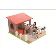 Le Toy Van – Écurie avec cheval et cavalier