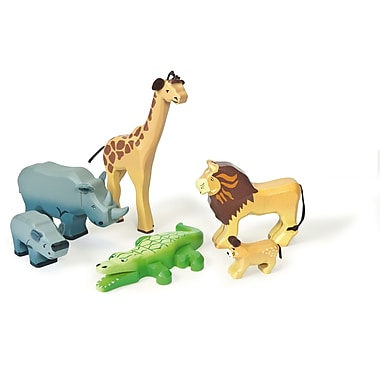 Le Toy Van – Ensemble d'animaux sauvages savane