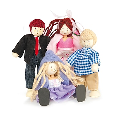 Le Toy Van Family of 4 Dolls