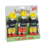 LE TOY VAN BUDKINS FIREFIGHTERS GIFT PACK