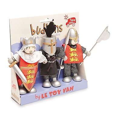 Le Toy Van – Ensemble cadeau de croisés Budkins, paquet de 3
