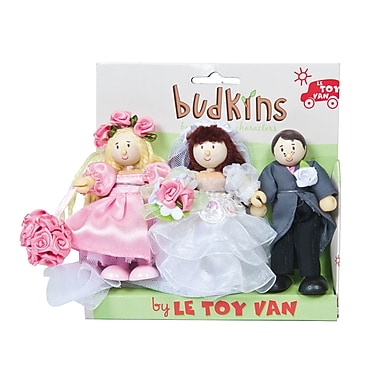 LE TOY VAN BUDKINS BRIDE, GROOM AND BRIDESMAID GIFT PACK