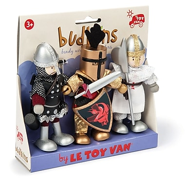 LE TOY VAN BUDKINS KNIGHT SET GIFT PACK