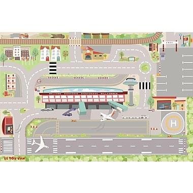 Le Toy Van – Tapis de jeu Mon premier aéroport 80 X 120 cm