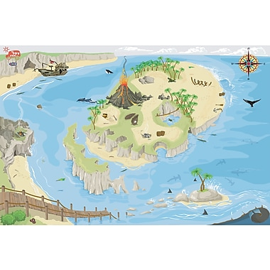 Le Toy Van Large Pirate Playmat, 100 x 150 cm