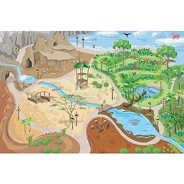 Le Toy Van – Grand tapis de jeu Safari, 100 x 150 cm
