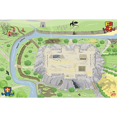 Le Toy Van Large Castle Playmat, 100 x 150 cm