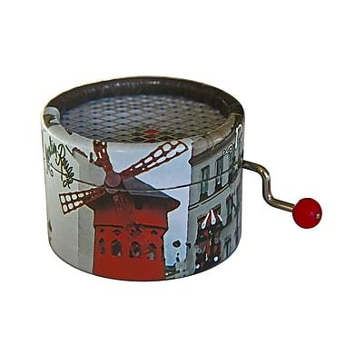 PML – Boîte à musique French cancan, à manivelle, BPM011
