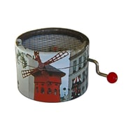 PML BPM011 French cancan Hand Crank Musical Box