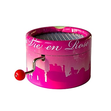 PML BPM110 La vie en Rose, Edith Piaf Hand Crank Musical Box